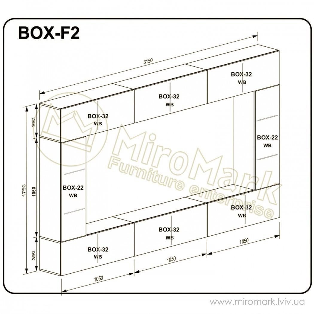 Гостиная Box вариант F-2