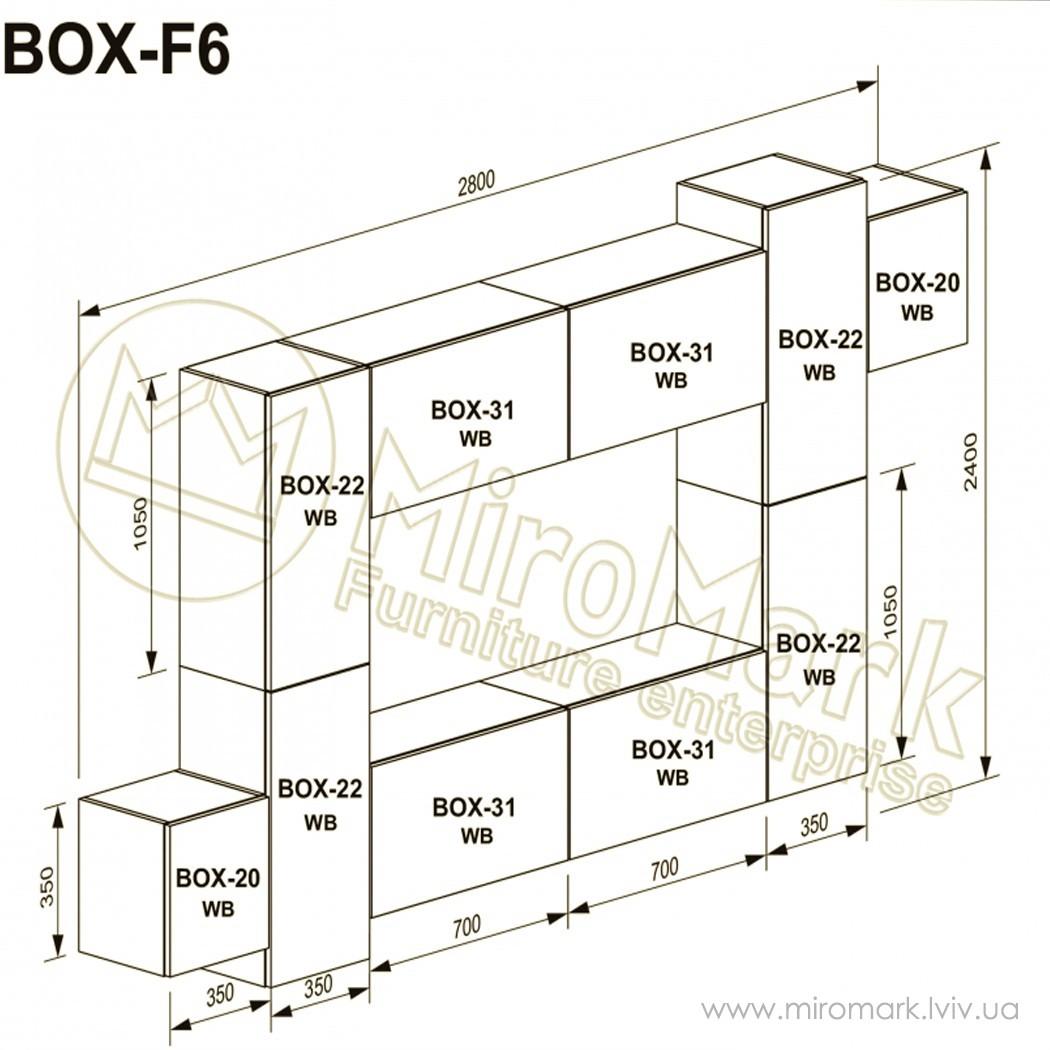 Гостиная Box вариант F-6