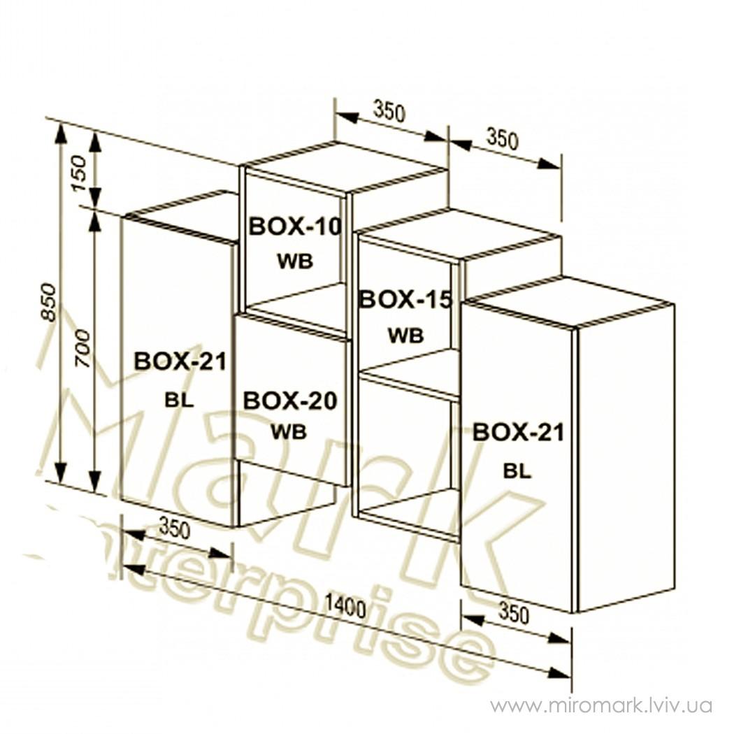 Гостиная Box вариант V-1-2