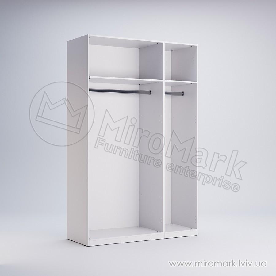 Шкаф 3 двери с зеркалом Фемели