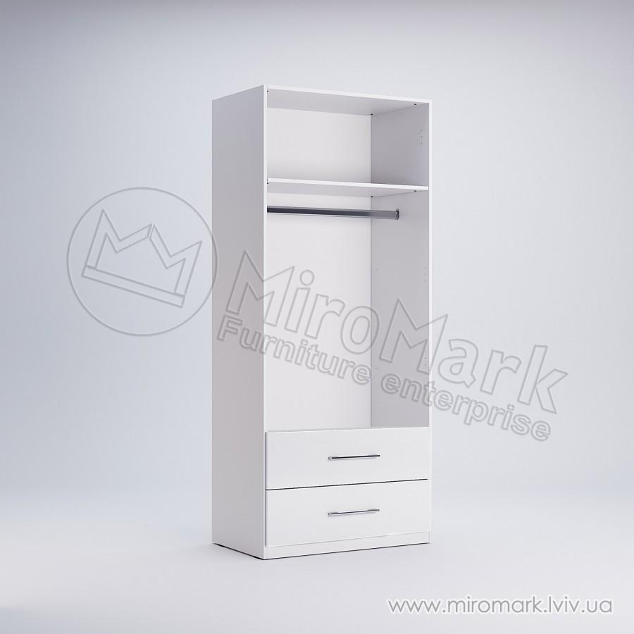 Шкаф 2 двери 2 ящика Фемели