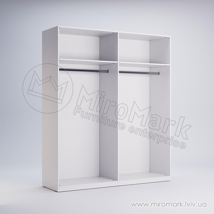Шкаф 4 двери с зеркалом Фемели