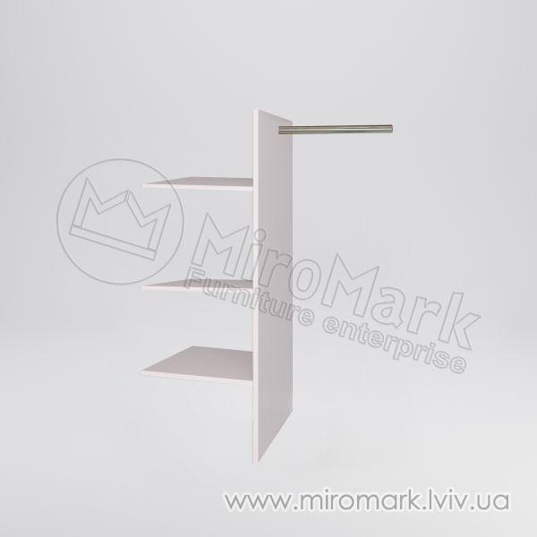 Шкаф 3/4 двери: полки Т-образные Идеа