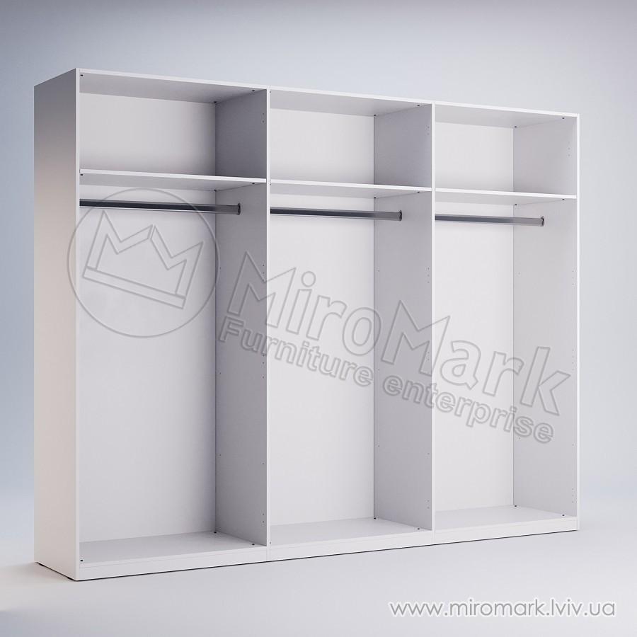 Шкаф 6 дв Квадро без зеркал