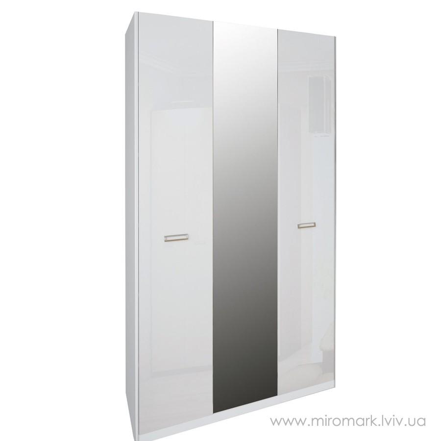 Белла шкаф 3дв с зеркалом (138см)