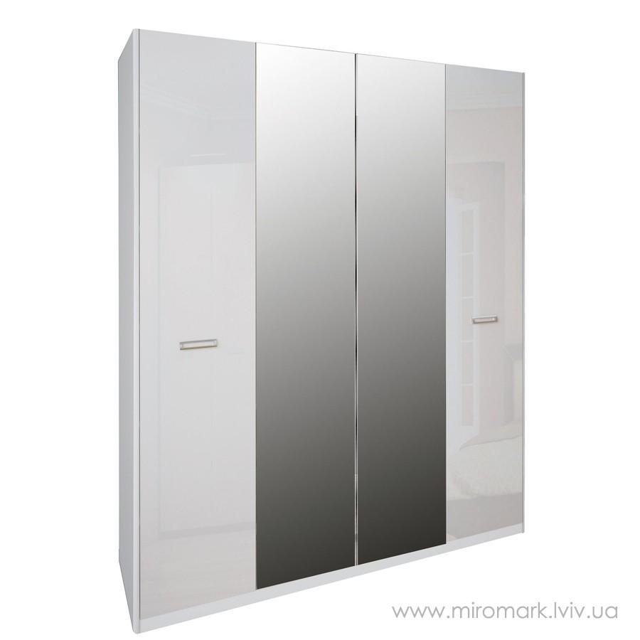 Белла шкаф 4дв (183см)