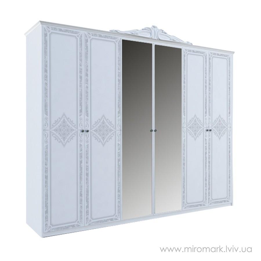 Шкаф 6дв (281см) Луиза