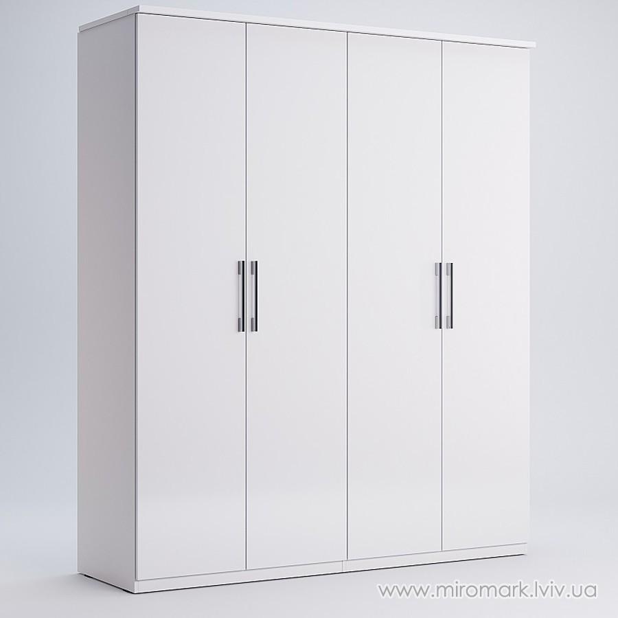Шкаф 4 двери Фемели