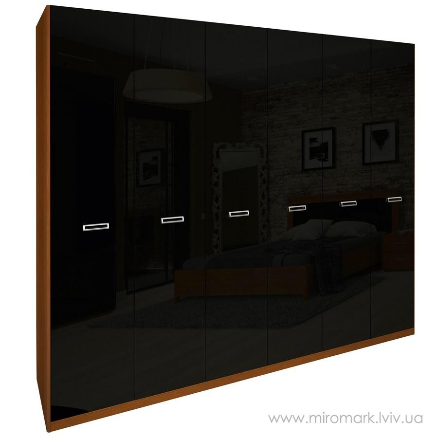 Шкаф 6дв (272см) Белла черная