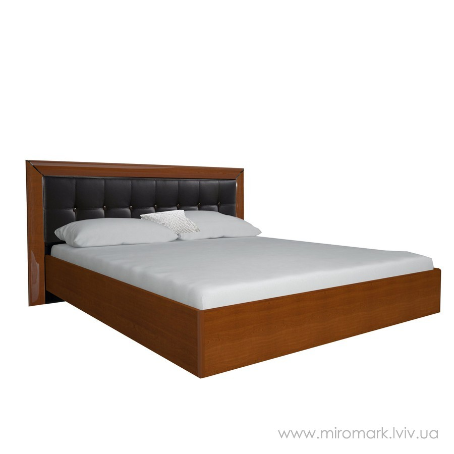 Кровать 180 мягкая Белла черная
