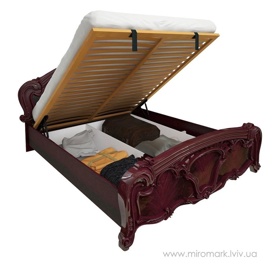 Кровать 160 подъемная Олимпия Рубино