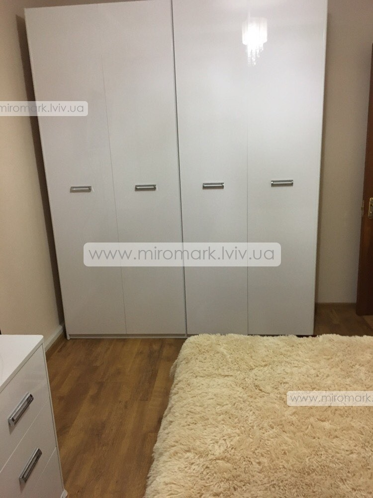 Белла шкаф 4дв без зеркал (183см)