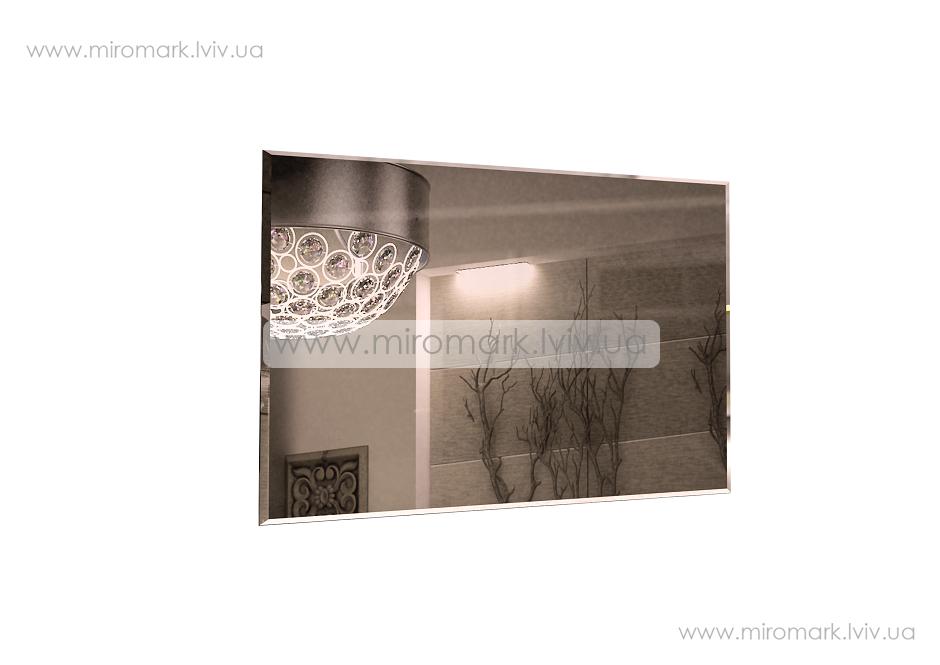 Богема зеркало 900х600 вишня бюзум