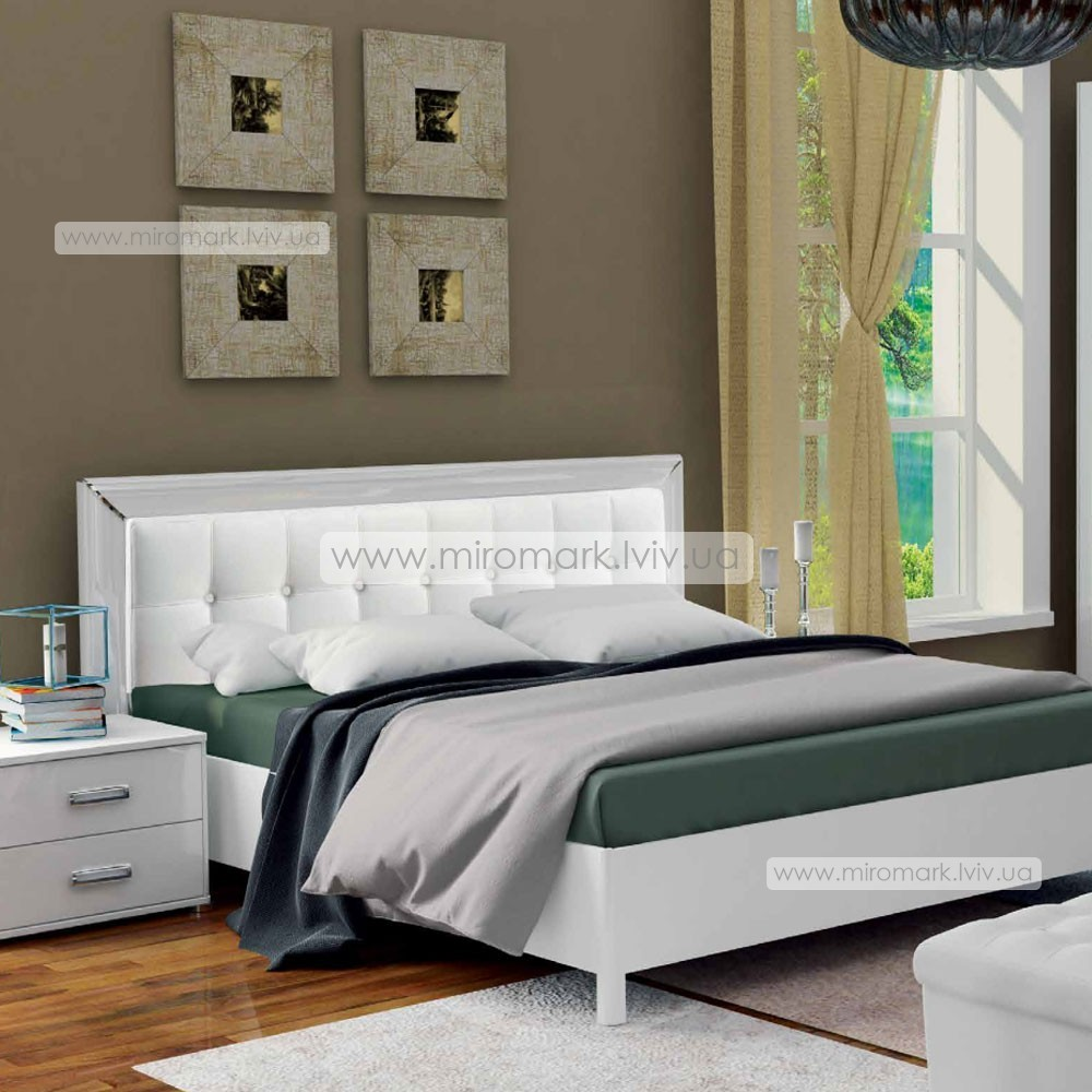 Белла кровать 160 мягкая спинка