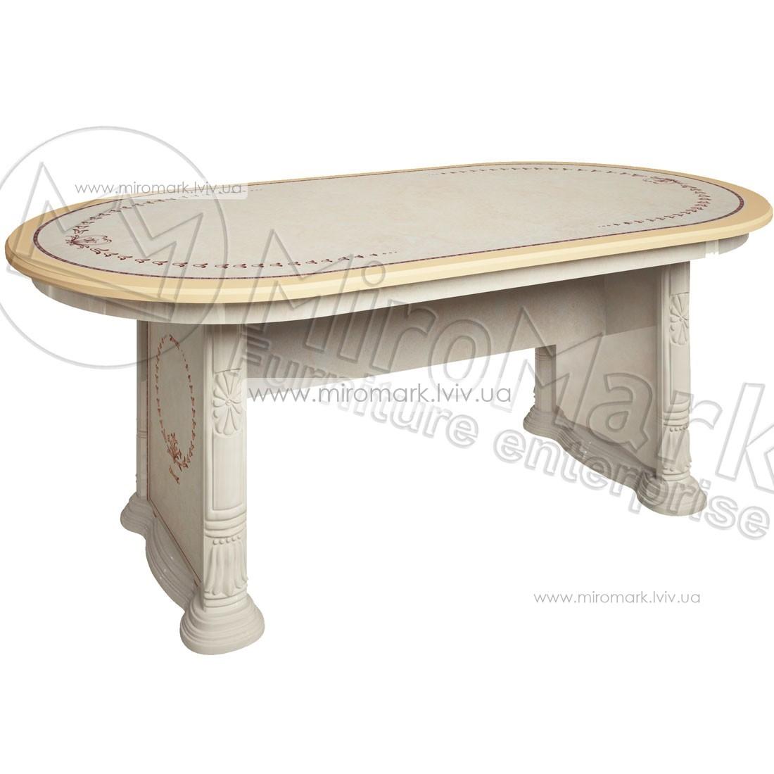 Чикаго стол столовый раздвижной радика беж