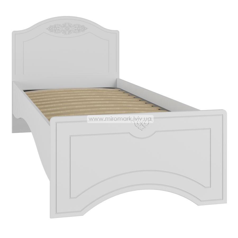 Кровать 1 спальная (90х200) без ламелей