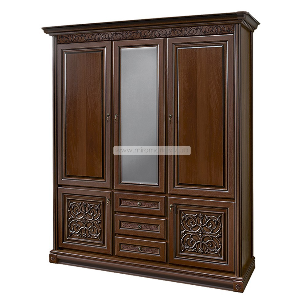 Тоскана шкаф 3-дверный