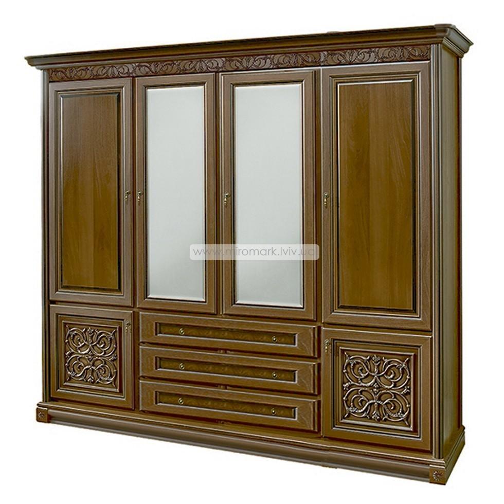 Тоскана шкаф 4-дверный