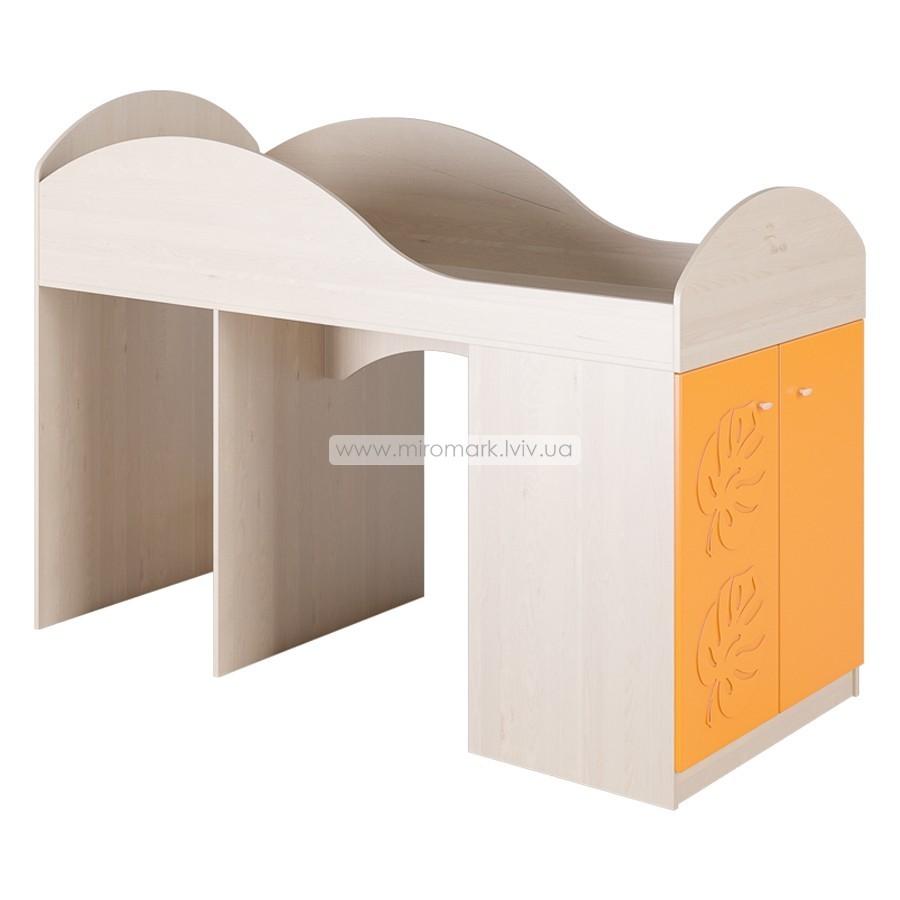 Кровать-чердак МДМ-2 «Маугли» оранж
