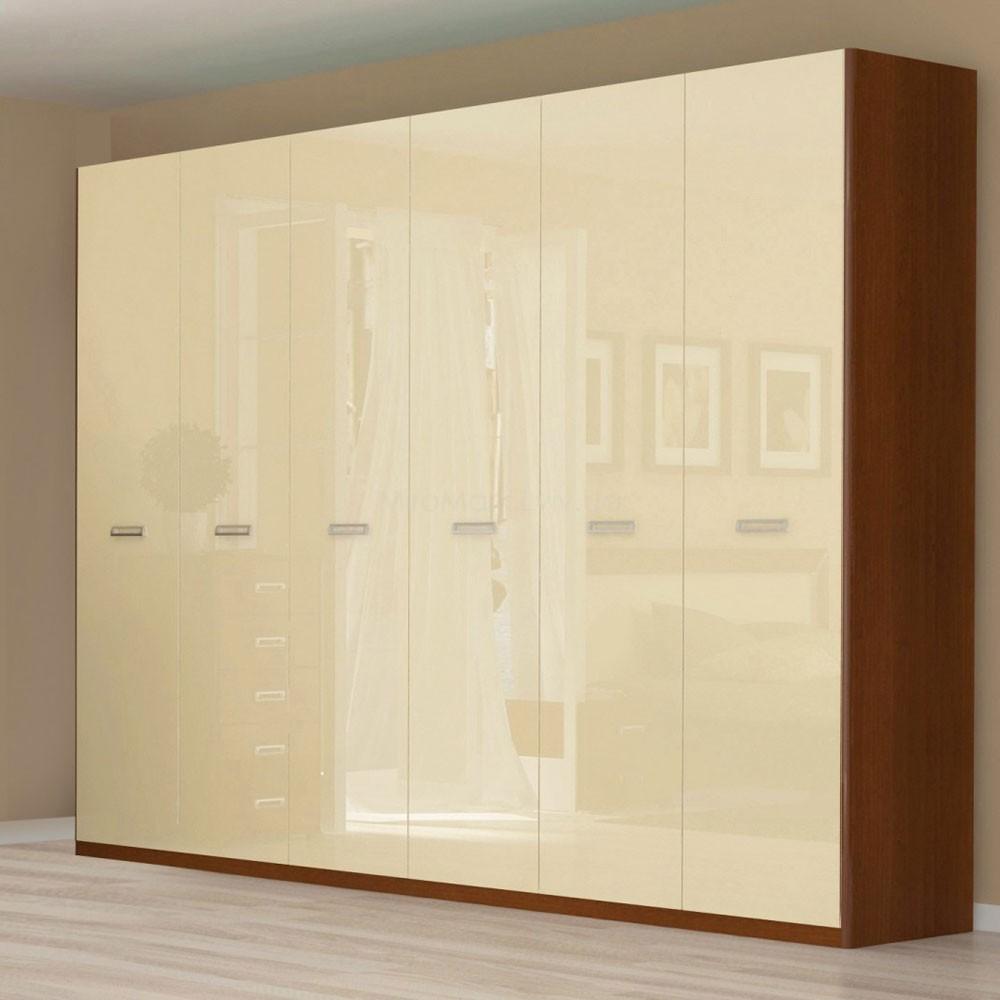 Шкаф 6дв (272см) БЗ Белла ваниль