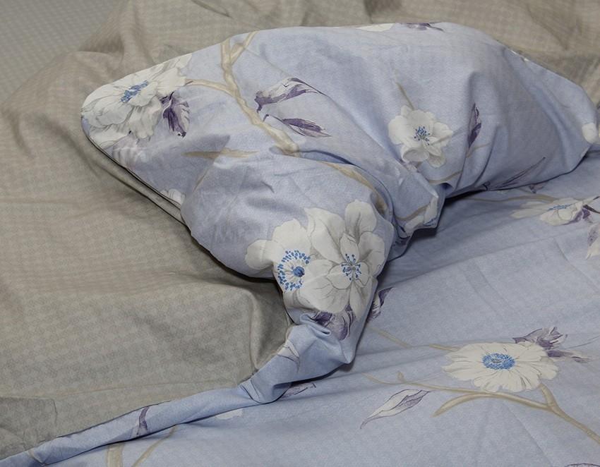 Комплект постельного белья ТМ TAG сатин-люкс с компаньоном S358