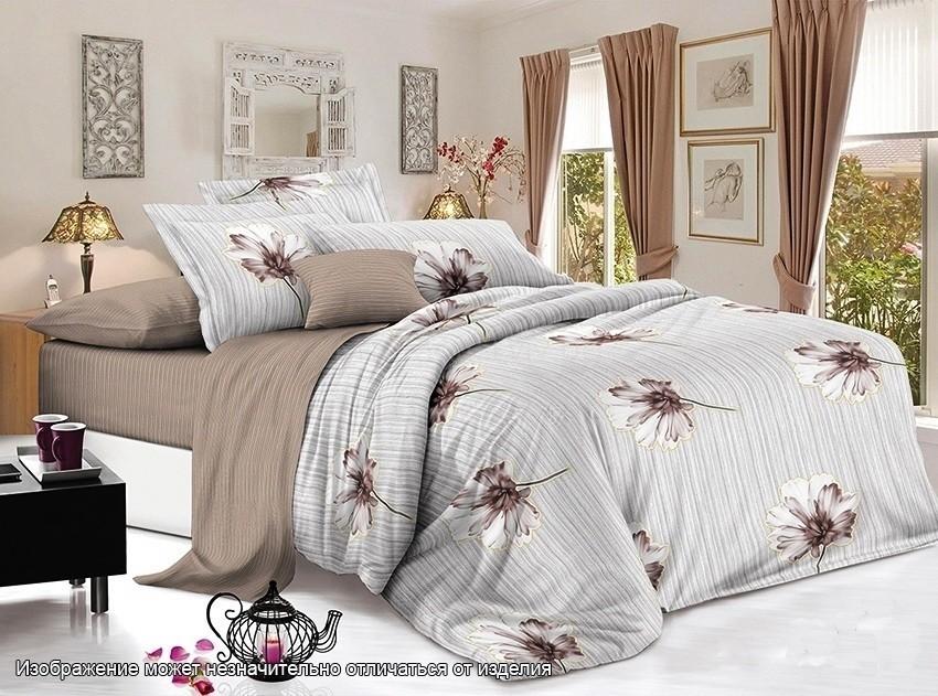 Комплект постельного белья ТМ TAG сатин-люкс с компаньоном S355