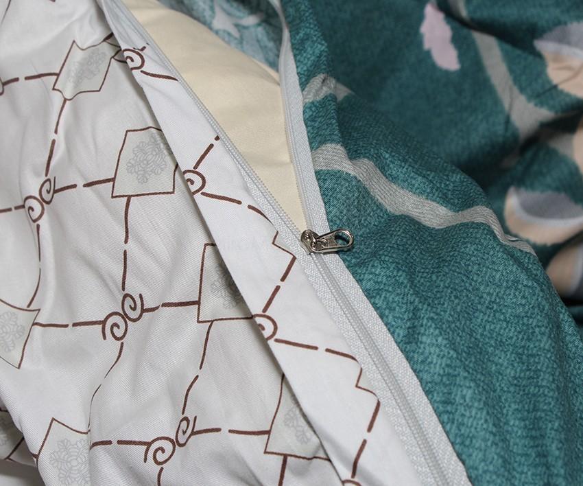 Комплект постельного белья ТМ TAG сатин-люкс с компаньоном S352