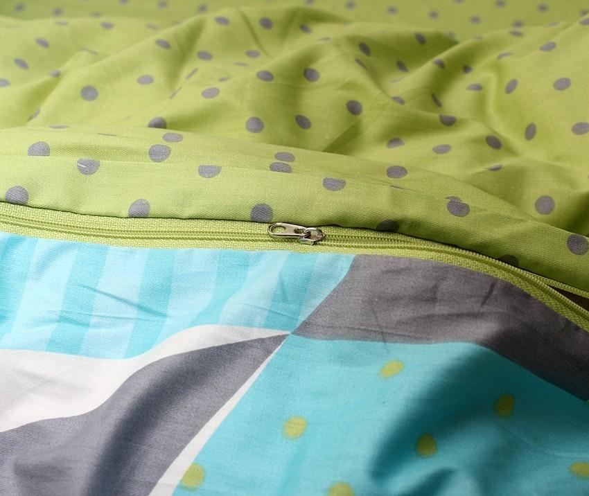 Комплект постельного белья ТМ TAG сатин-люкс с компаньоном S350