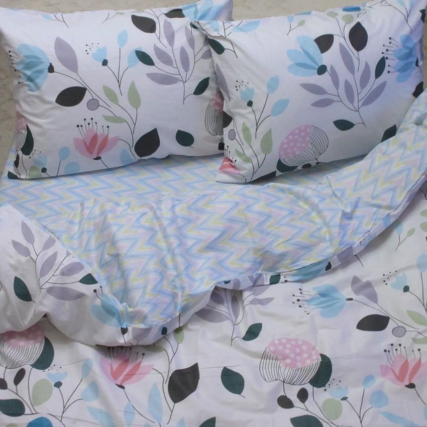 Комплект постельного белья ТМ TAG сатин-люкс с компаньоном S319