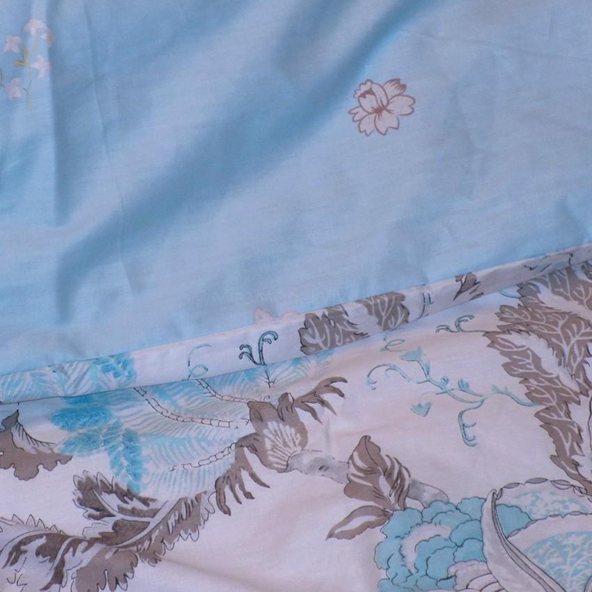 Комплект постельного белья ТМ TAG сатин-люкс с компаньоном S313