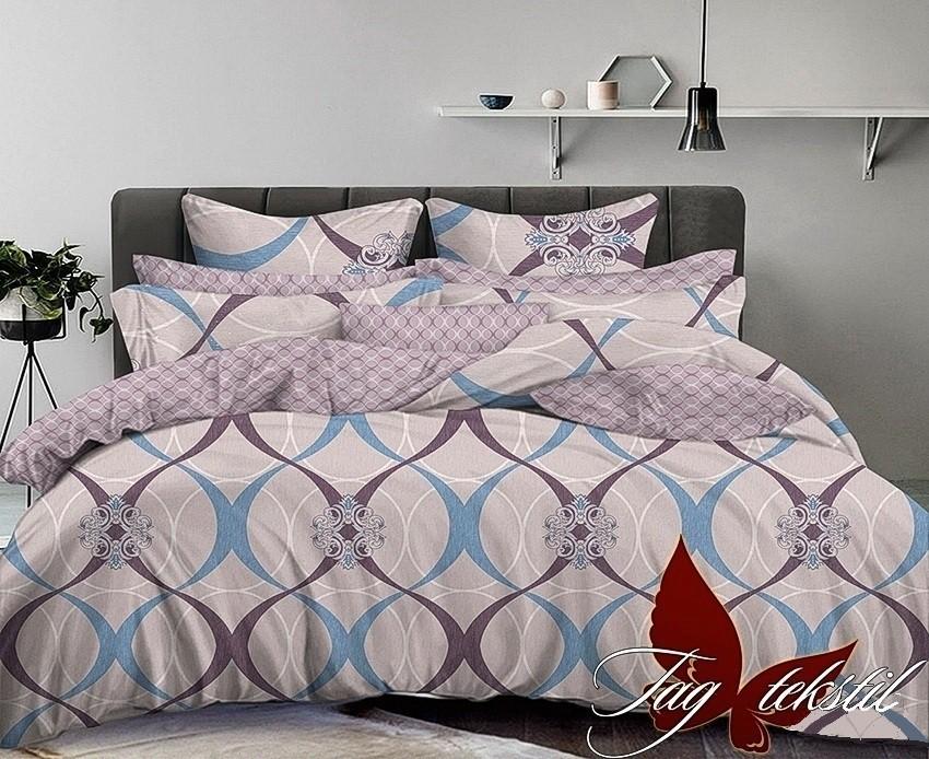 Комплект постельного белья ТМ TAG сатин-люкс с компаньоном S224