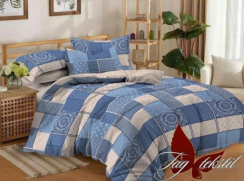 Комплект постельного белья ТМ TAG сатин-люкс с компаньоном S173