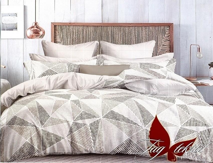 Комплект постельного белья ТМ TAG сатин-люкс с компаньоном S267