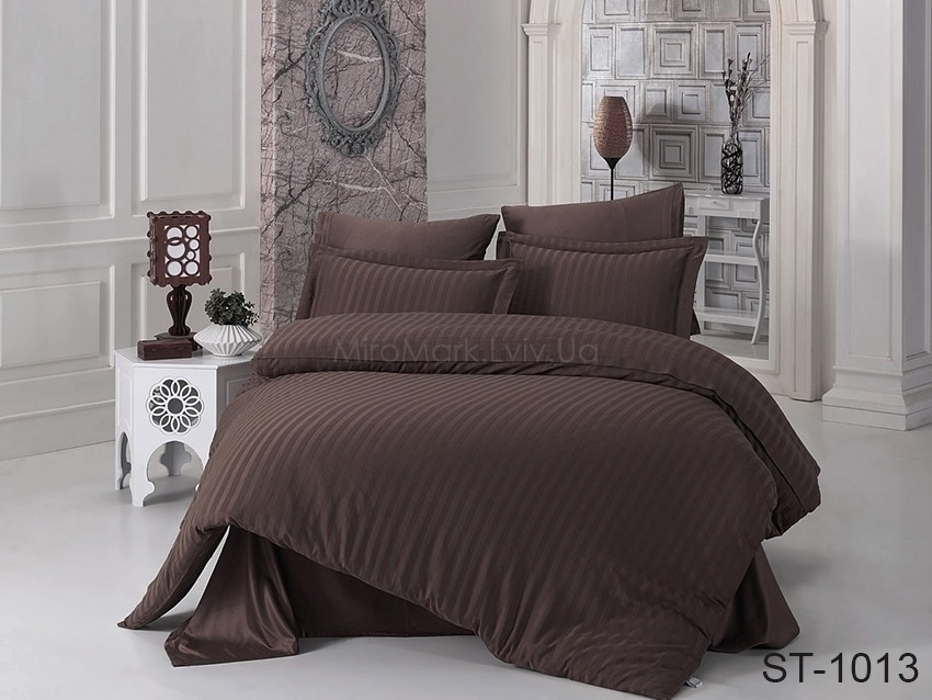 Комплект постельного белья ТМ TAG страйп-сатин ST-1013