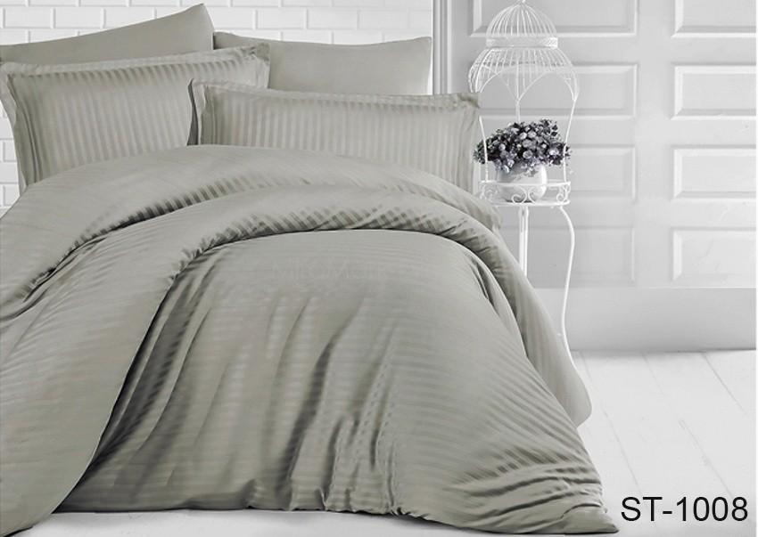 Комплект постельного белья ТМ TAG страйп-сатин ST-1008