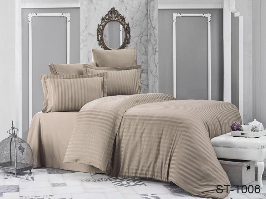 Комплект постельного белья ТМ TAG страйп-сатин ST-1006