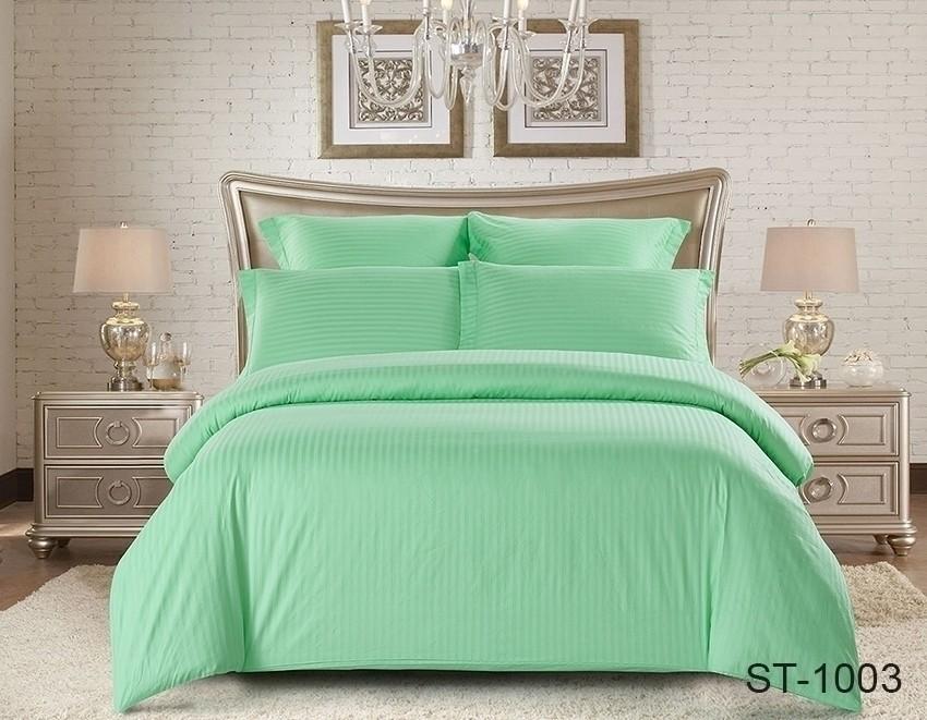 Комплект постельного белья ТМ TAG страйп-сатин ST-1003