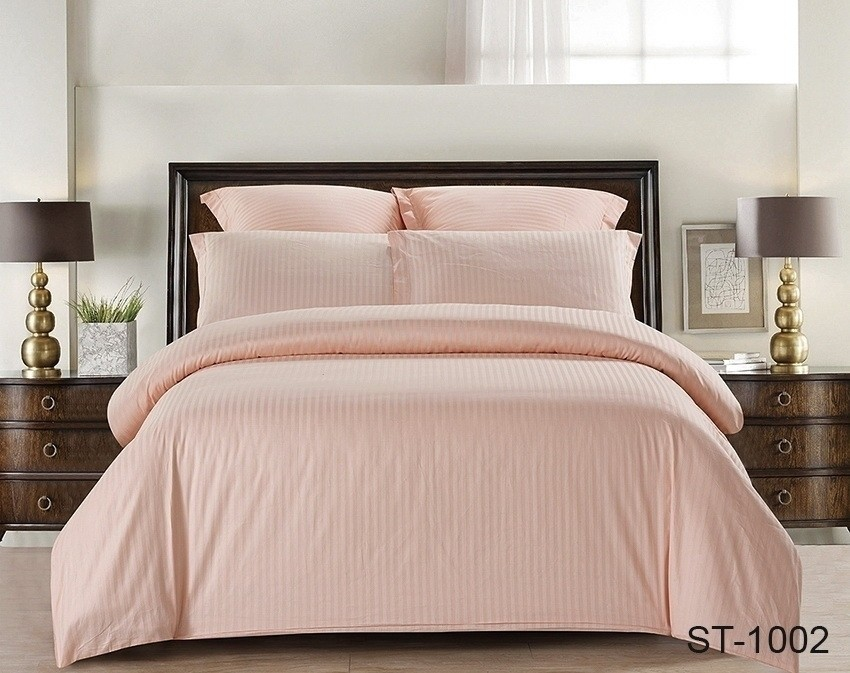 Комплект постельного белья ТМ TAG страйп-сатин ST-1002