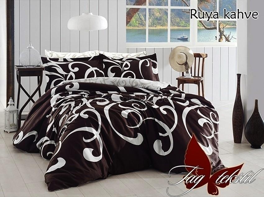 Комплект постельного белья с компаньоном ТМ TAG Ruya kahve