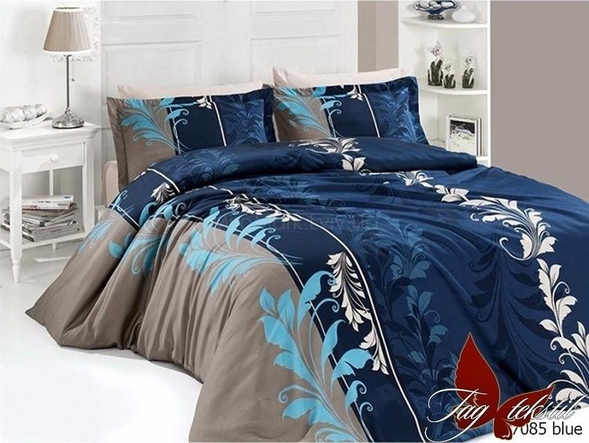 Комплект постельного белья ТМ TAG R7085 blue