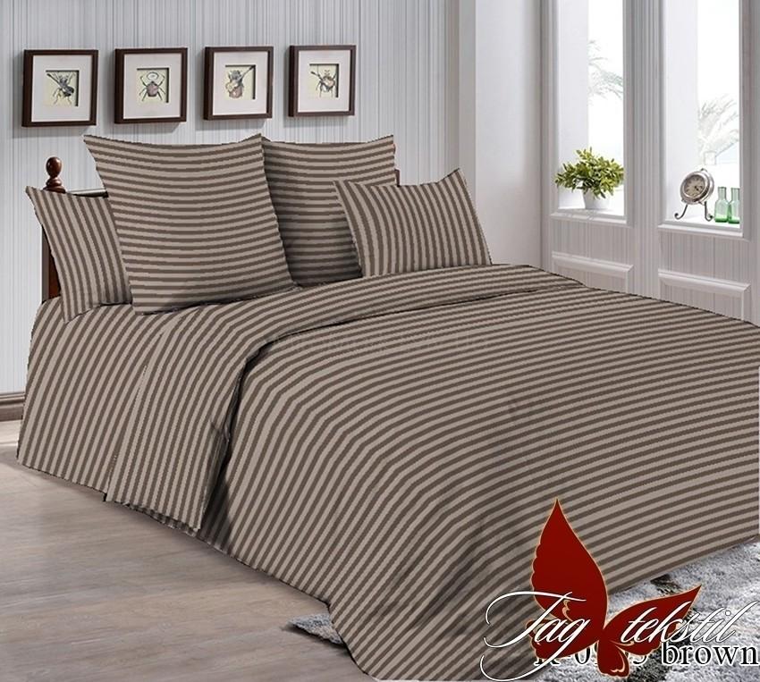 Комплект постельного белья ТМ TAG R0905brown