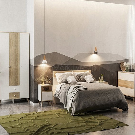 Спальня Эрика (без матраса и каркаса)