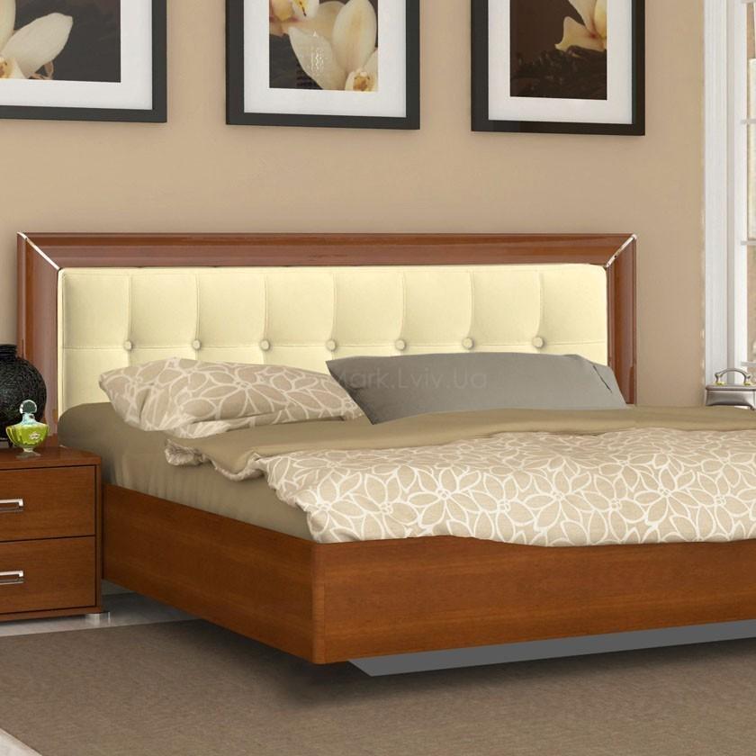Кровать 180 мягкая Белла ваниль
