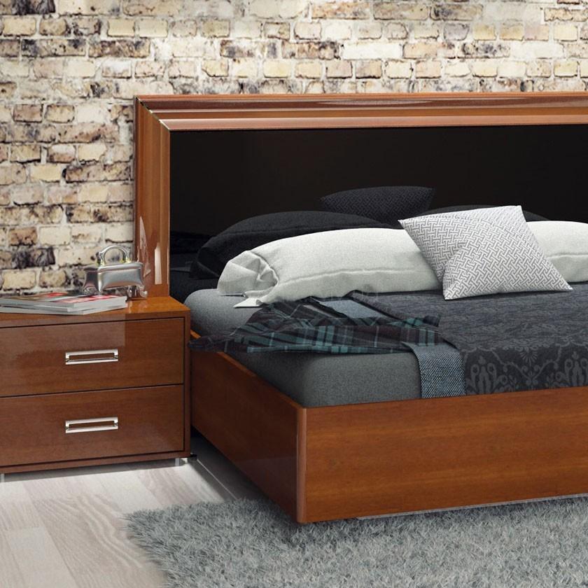 Кровать 160 Белла черная
