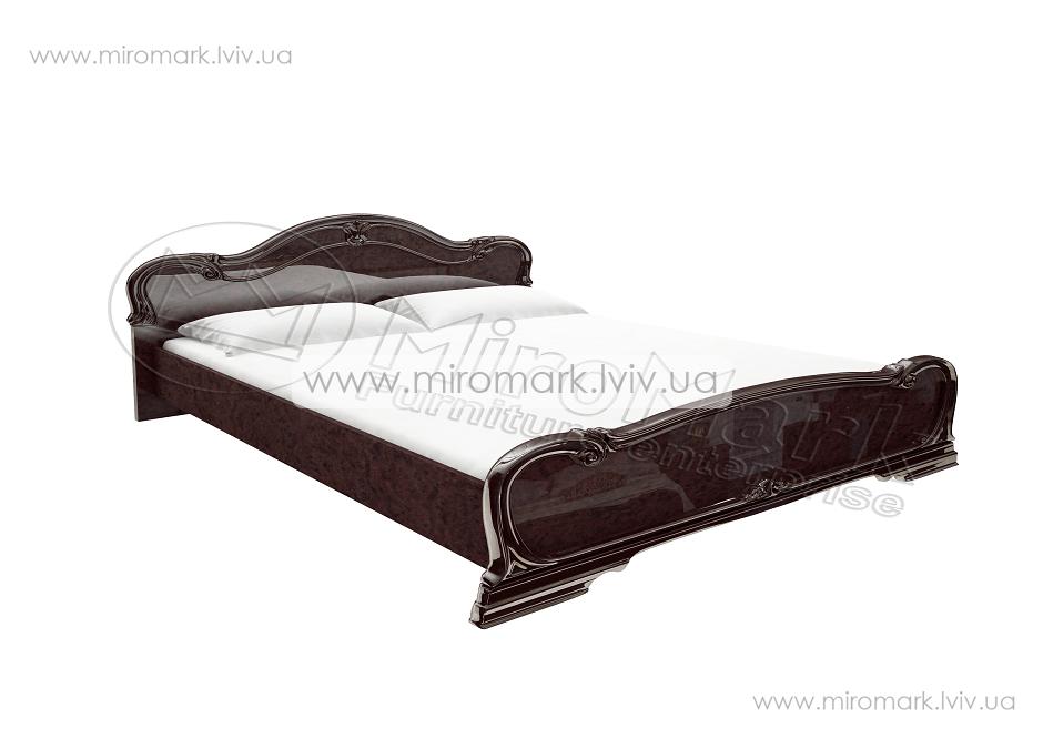 Футура кровать 160 с каркасом Радика Махонь