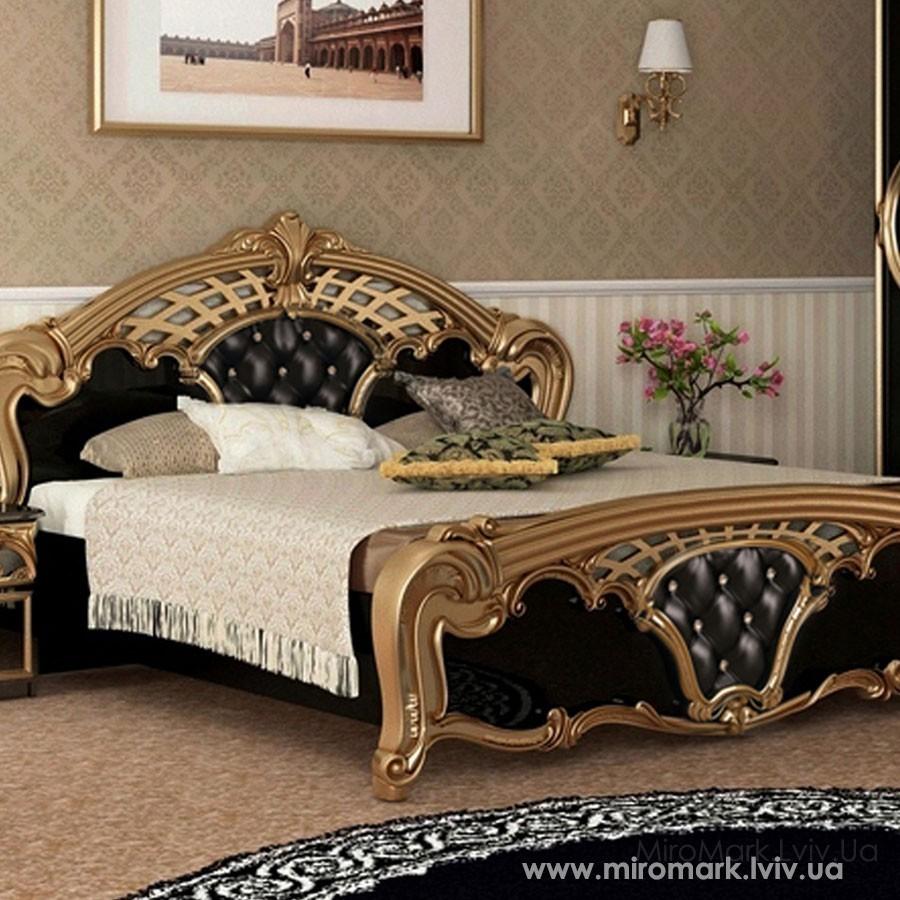 Кровать 180 Реджина черная