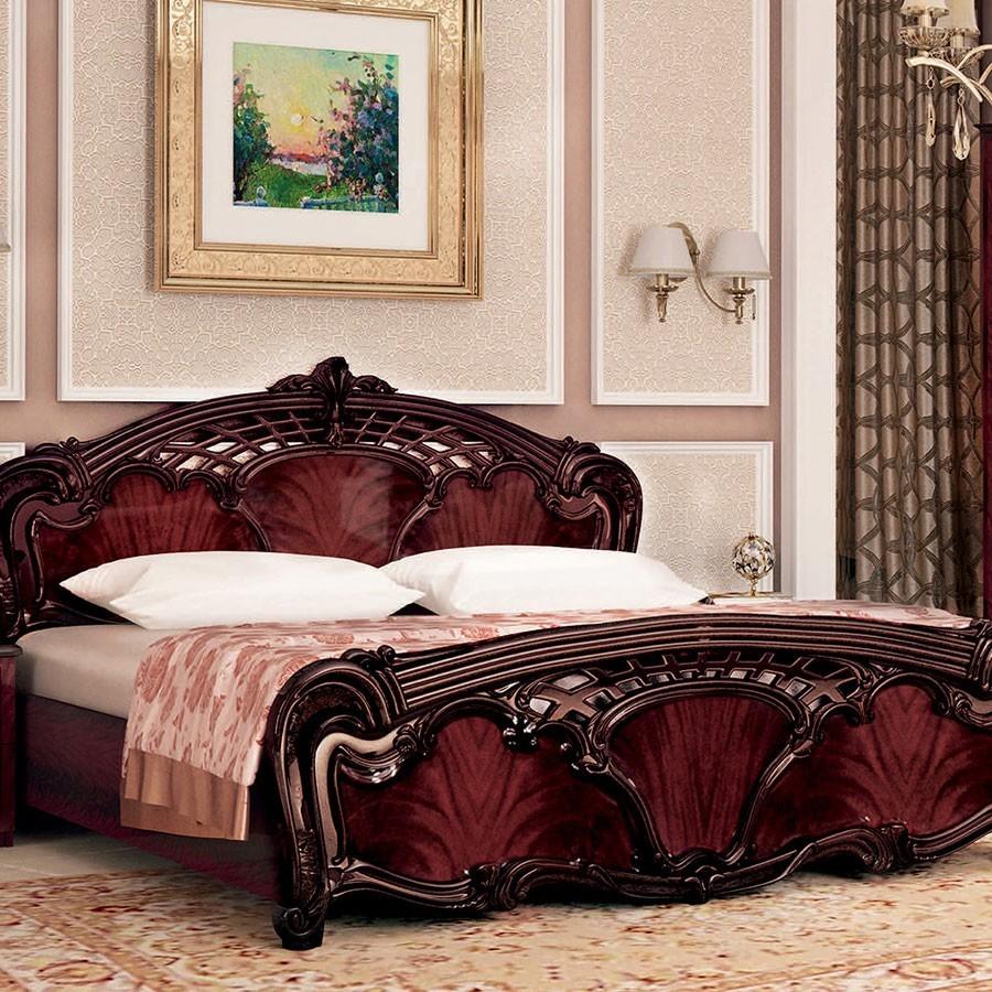 Кровать 160 Олимпия  Рубино
