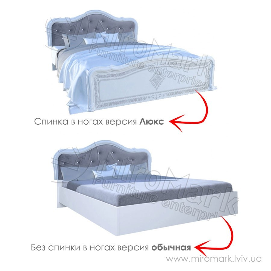 Кровать Люкс 160 Луиза